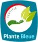 logo certification plante bleue